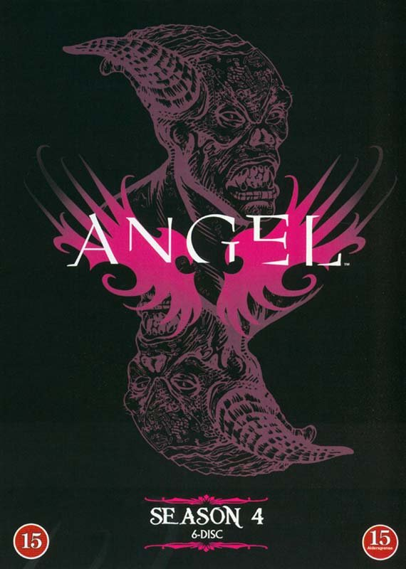 Image of   Angel - Sæson 4 - DVD - Tv-serie