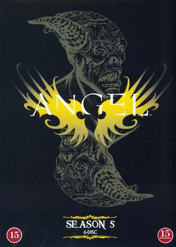 Image of   Angel - Sæson 5 - DVD - Tv-serie