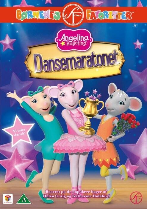 Image of   Angelina Ballerina 16 - Dansemaratonet - DVD - Film