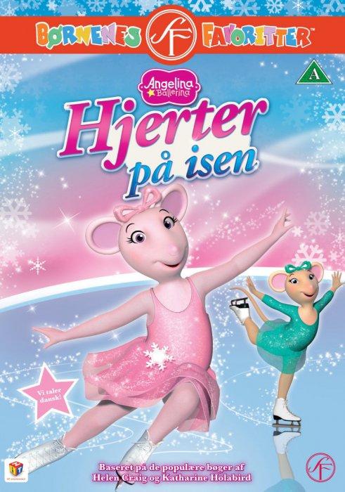 Image of   Angelina Ballerina 18 - Hjerter På Isen - DVD - Film