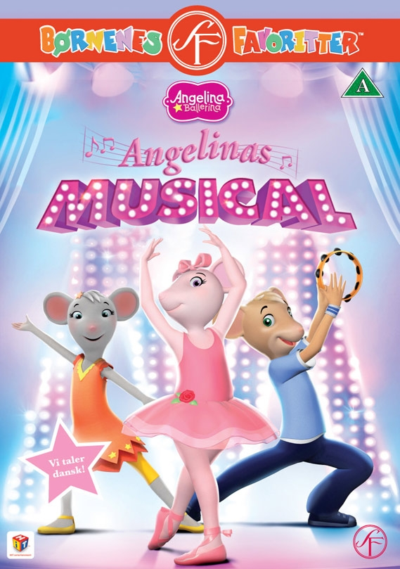 Image of   Angelina Ballerina 20 - Angelinas Musical - DVD - Film