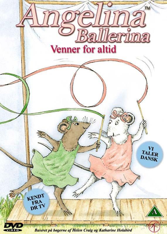 Image of   Angelina Ballerina 3 - Venner For Altid - DVD - Film