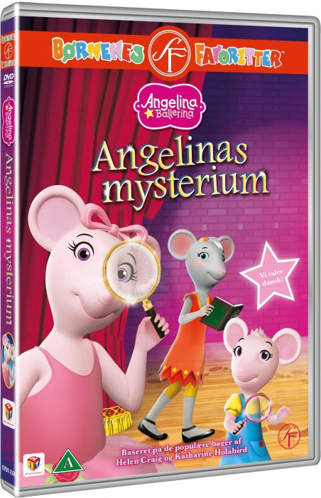 Image of   Angelina Ballerina - Angelinas Mysterium - DVD - Film