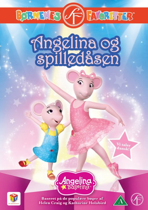 Image of   Angelina Ballerina 15 - Spilledåsen - DVD - Film