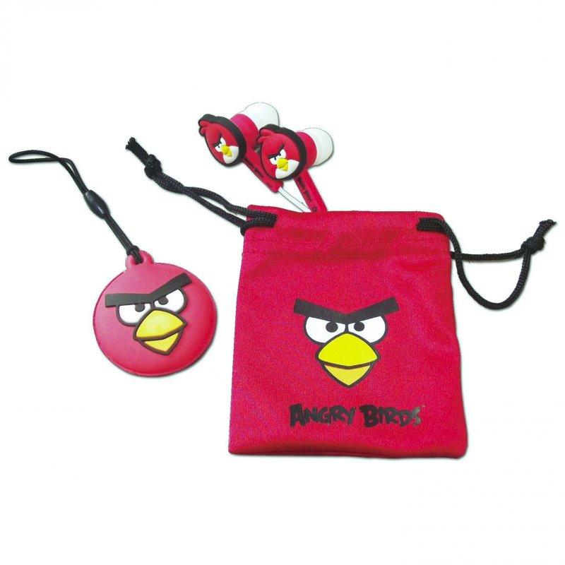 Billede af Angry Birds Crazy In Ear Høretelefoner