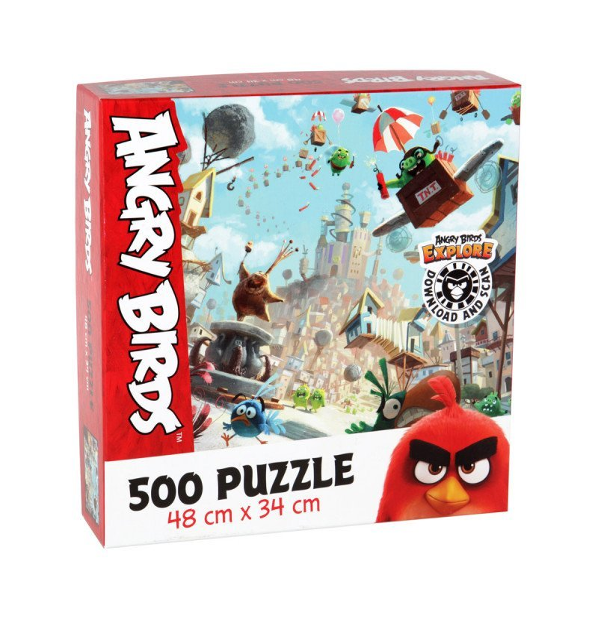 Image of Angry Birds Puslespil Med 500 Brikker