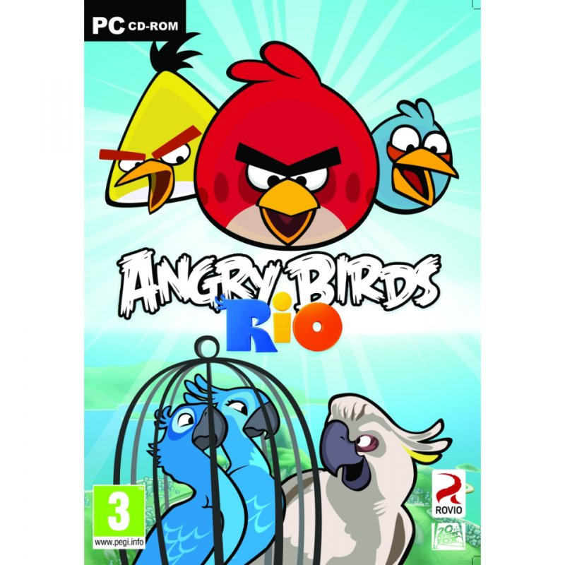 Image of   Angry Birds Rio - Dk - PC