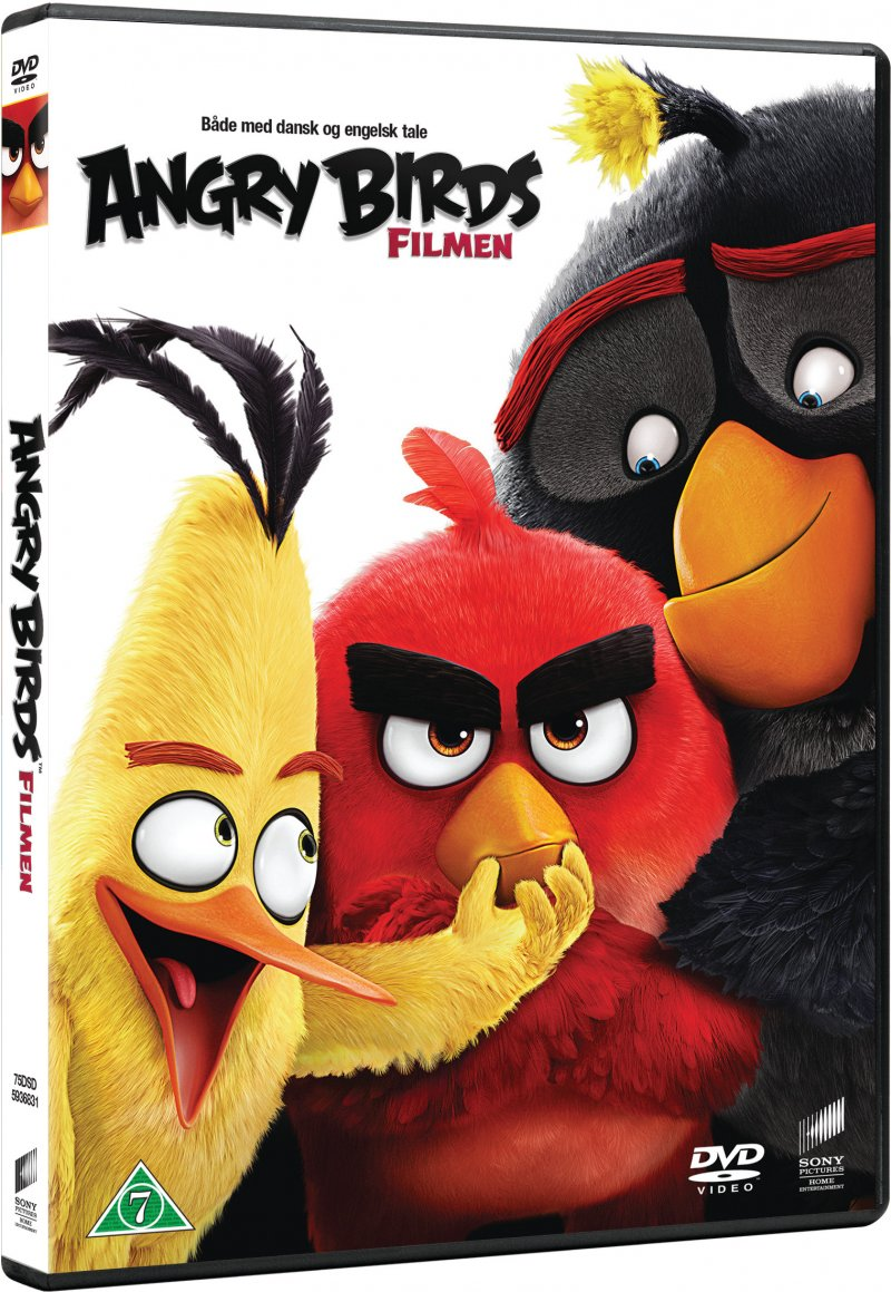 Image of   Angry Birds The Movie - DVD - Film