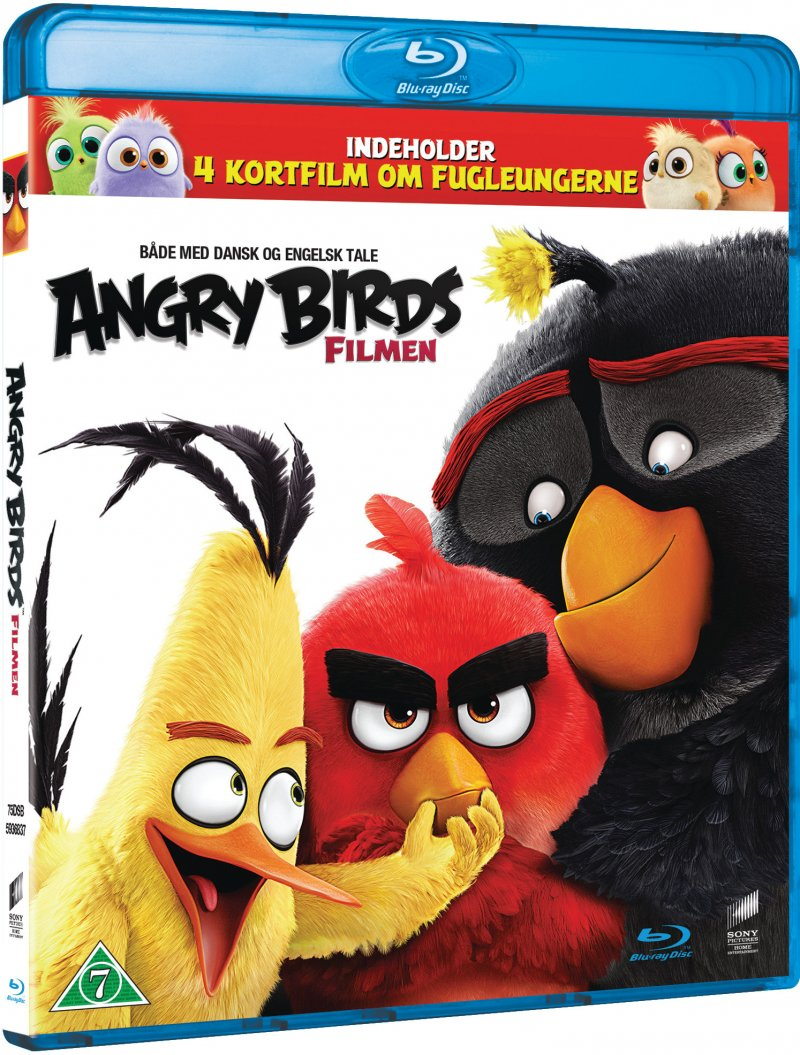 Image of   Angry Birds: The Movie - Blu-Ray