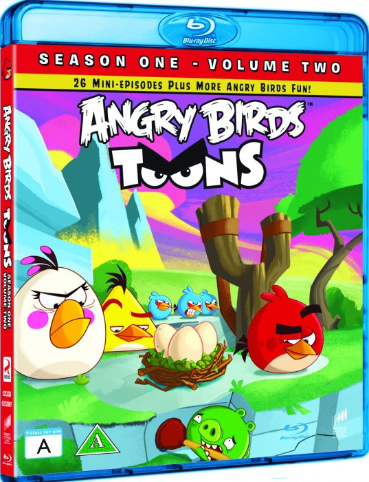 Image of   Angry Birds Toons Sæson 1 - Del 2 - Blu-Ray - Tv-serie