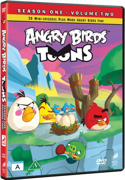 Image of   Angry Birds Toons Sæson 1 - Del 2 - DVD - Tv-serie