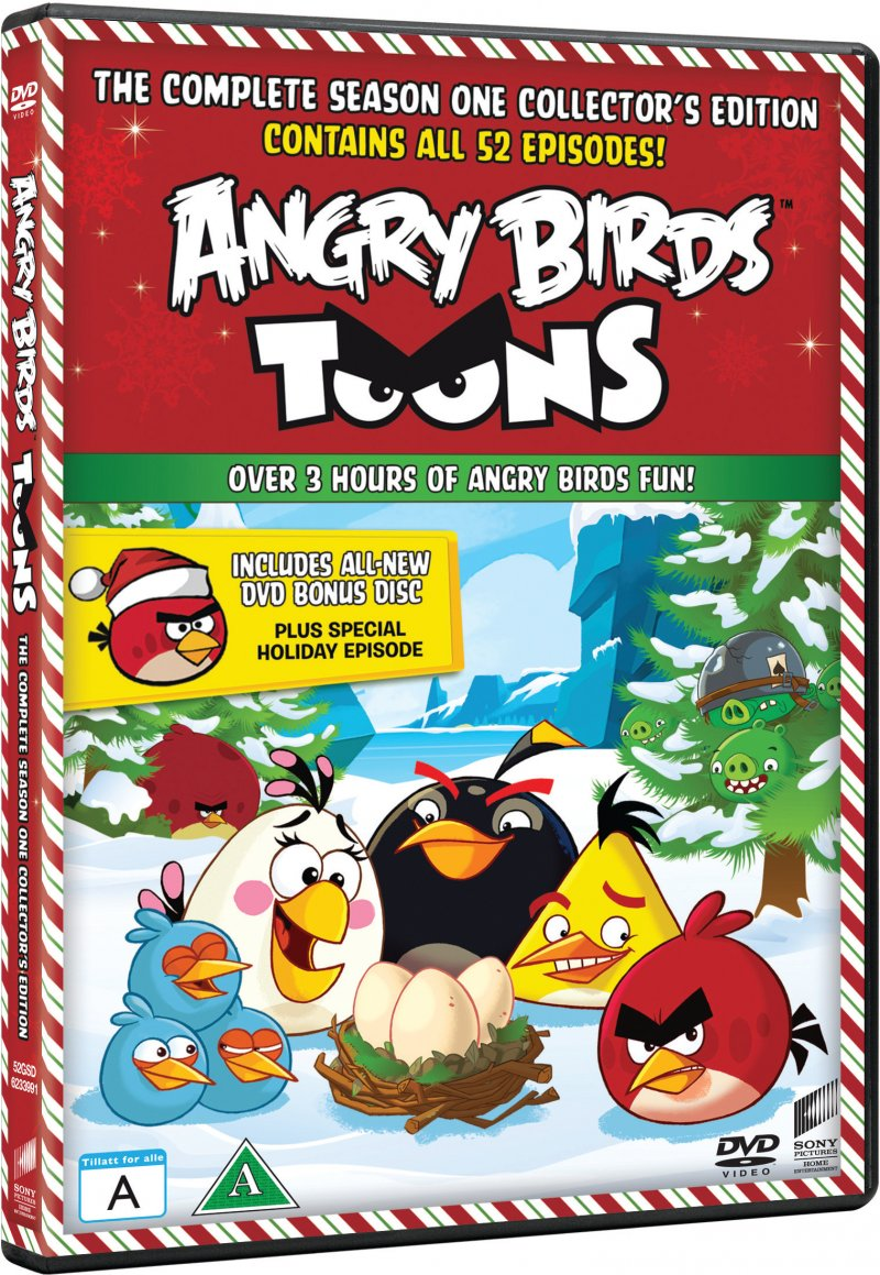 Image of   Angry Birds Toons - Sæson 1 - DVD - Tv-serie