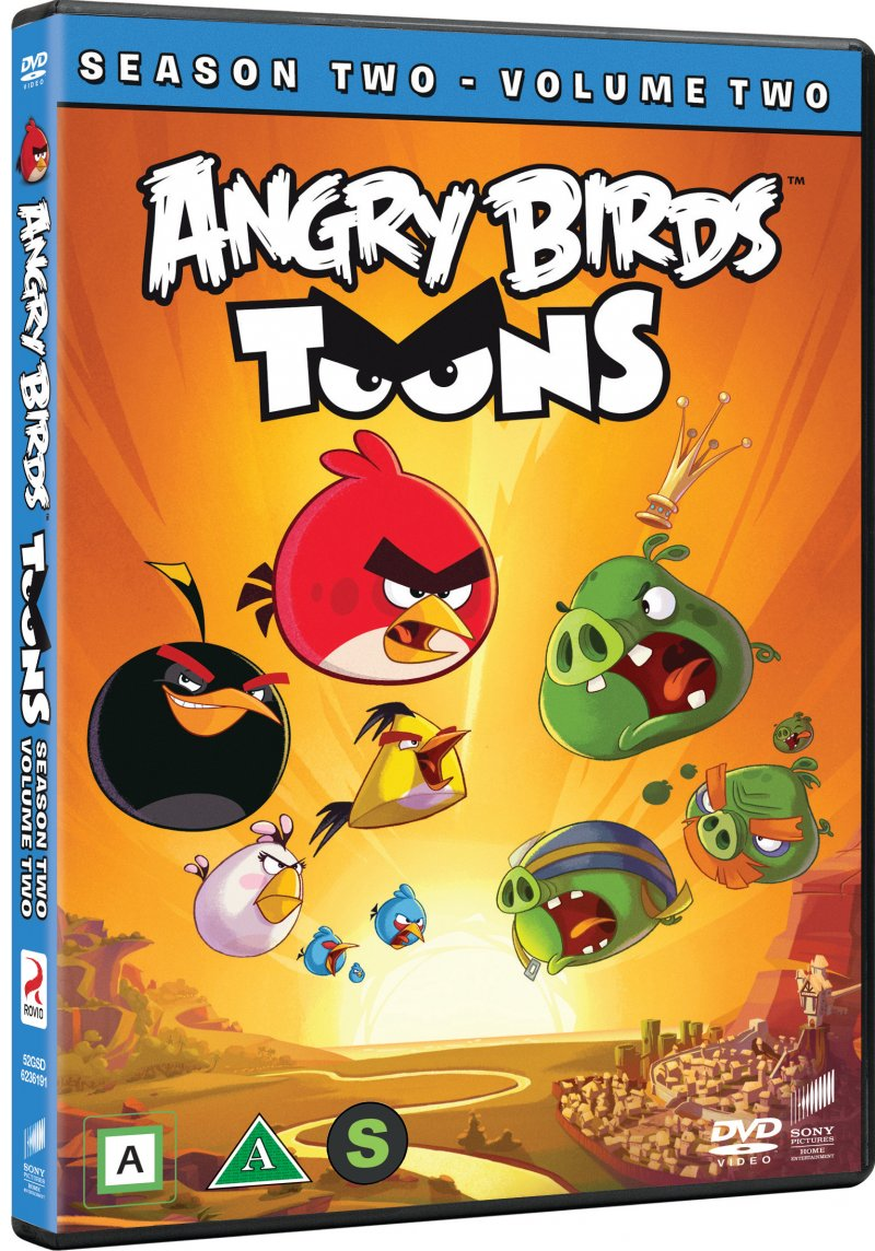 Image of   Angry Birds Toons - Sæson 2 - Vol. 2 - DVD - Tv-serie