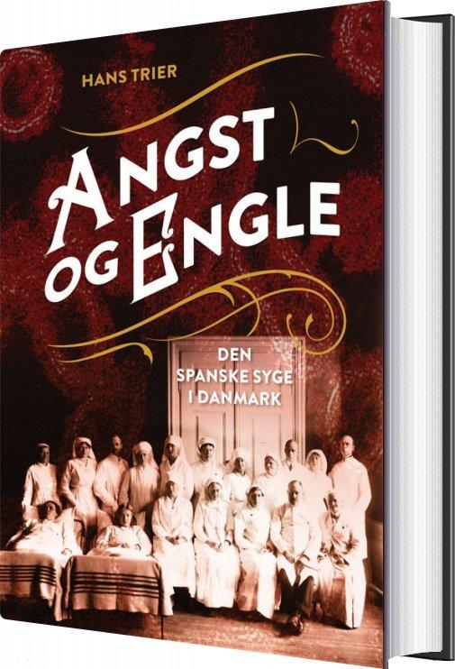 Billede af Angst Og Engle - Hans Trier - Bog