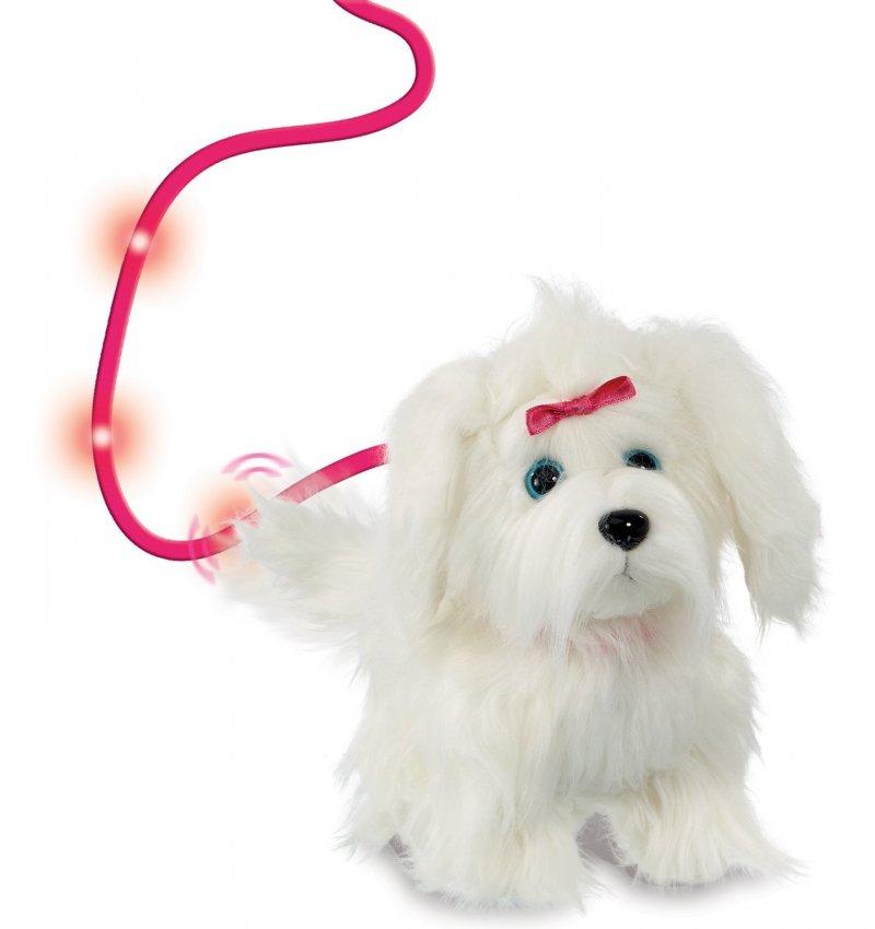 Image of   Animagic - Hunde Bamse Med Bevægelse Og Lyd - Fluffy Goes Walkies