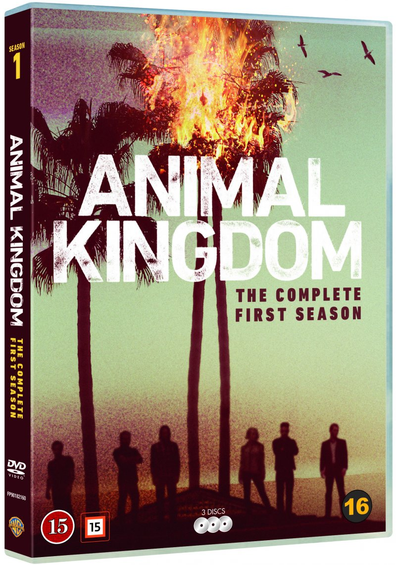 Image of   Animal Kingdom - Sæson 1 - DVD - Tv-serie