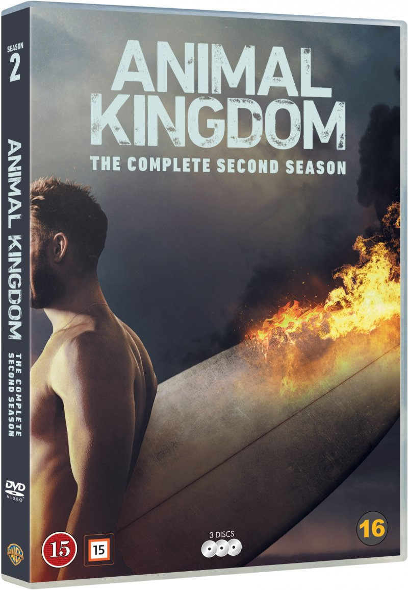 Image of   Animal Kingdom - Sæson 2 - DVD - Tv-serie