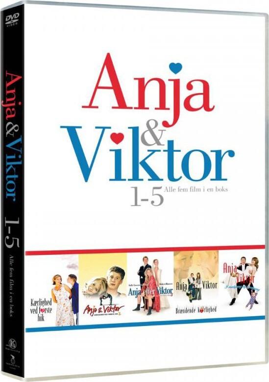 Billede af Anja Og Viktor Boks - Alle 5 Film - DVD - Film