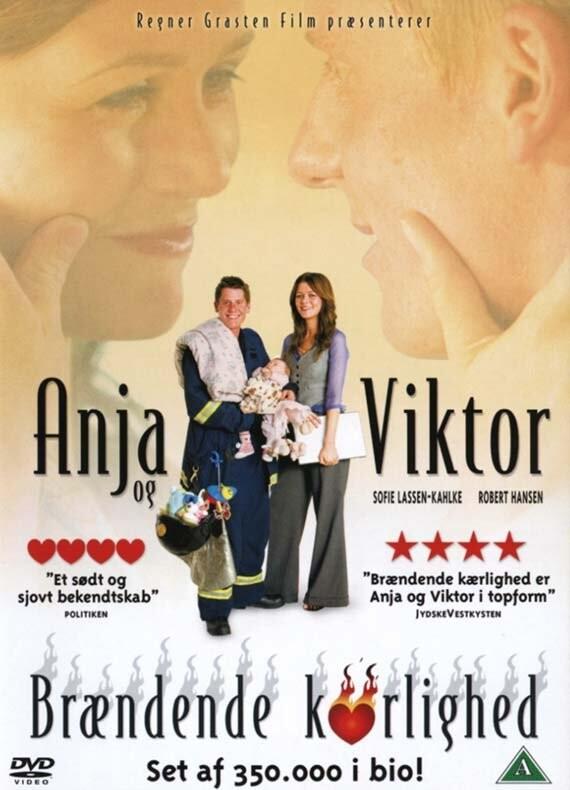 Image of   Anja Og Viktor 4 - Brændende Kærlighed - DVD - Film