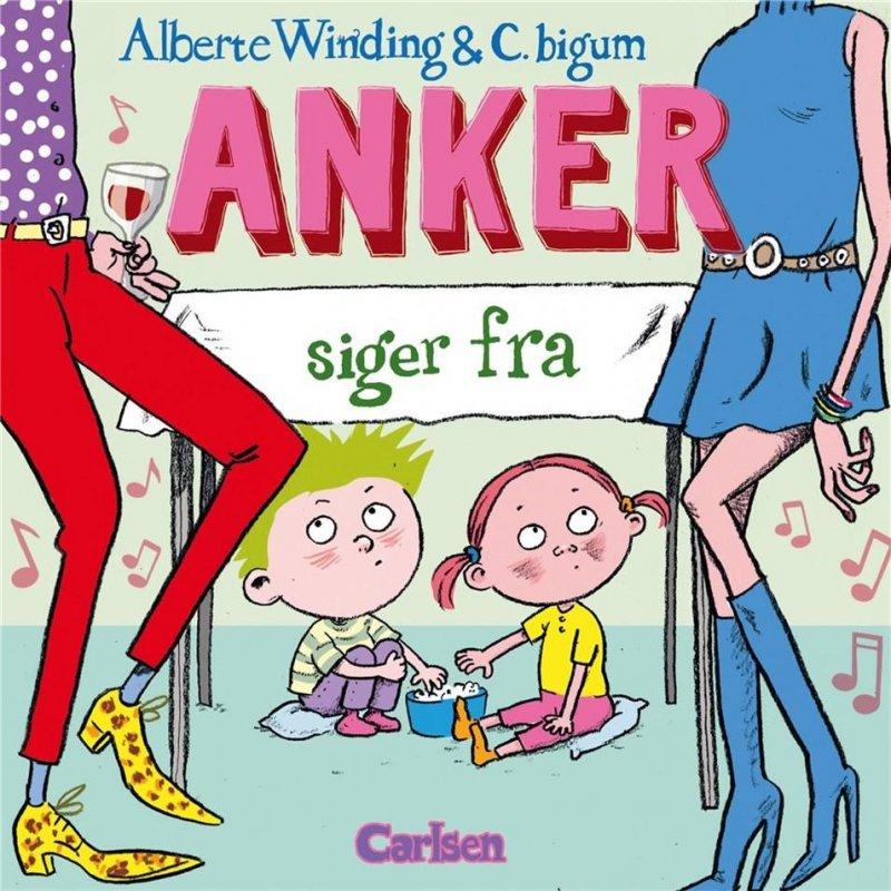 Image of   Anker (3) - Anker Siger Fra - Alberte Winding - Bog
