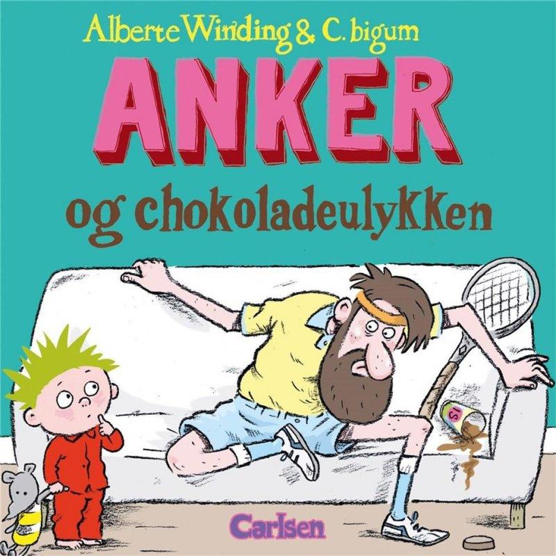 Image of   Anker (4) - Anker Og Chokoladeulykken - Alberte Winding - Bog