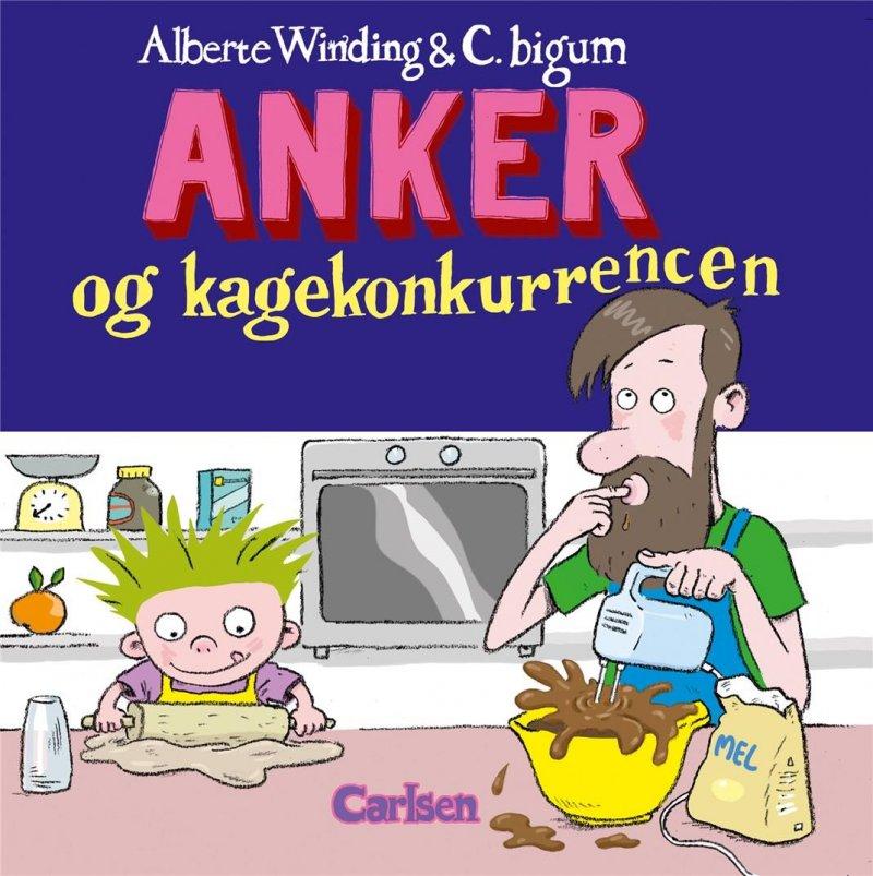 Image of   Anker (5) - Anker Og Kagekonkurrencen - Alberte Winding - Bog