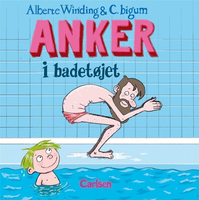 Image of   Anker (6) - Anker I Badetøjet - Alberte Winding - Bog