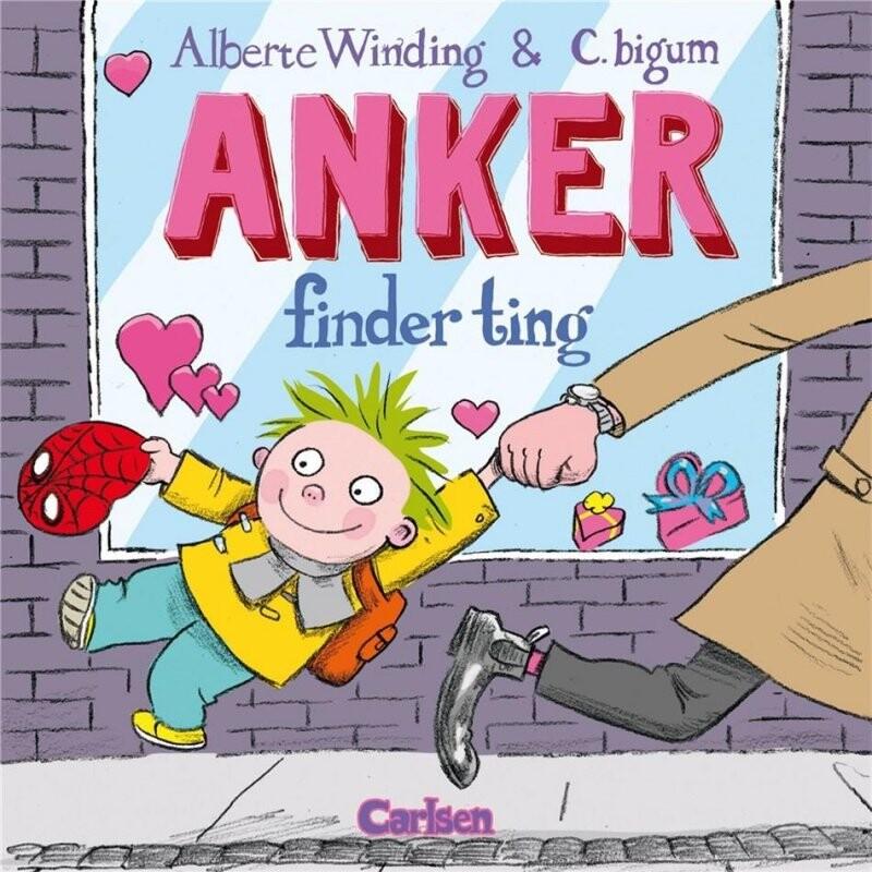 Image of   Anker 2 - Anker Finder Ting - Alberte Winding - Bog