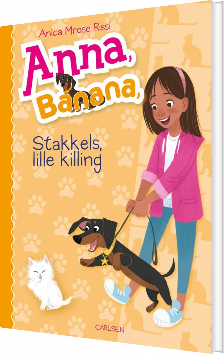 Image of   Anna, Banana (5) - Stakkels, Lille Killing - Anica Mrose Rissi - Bog
