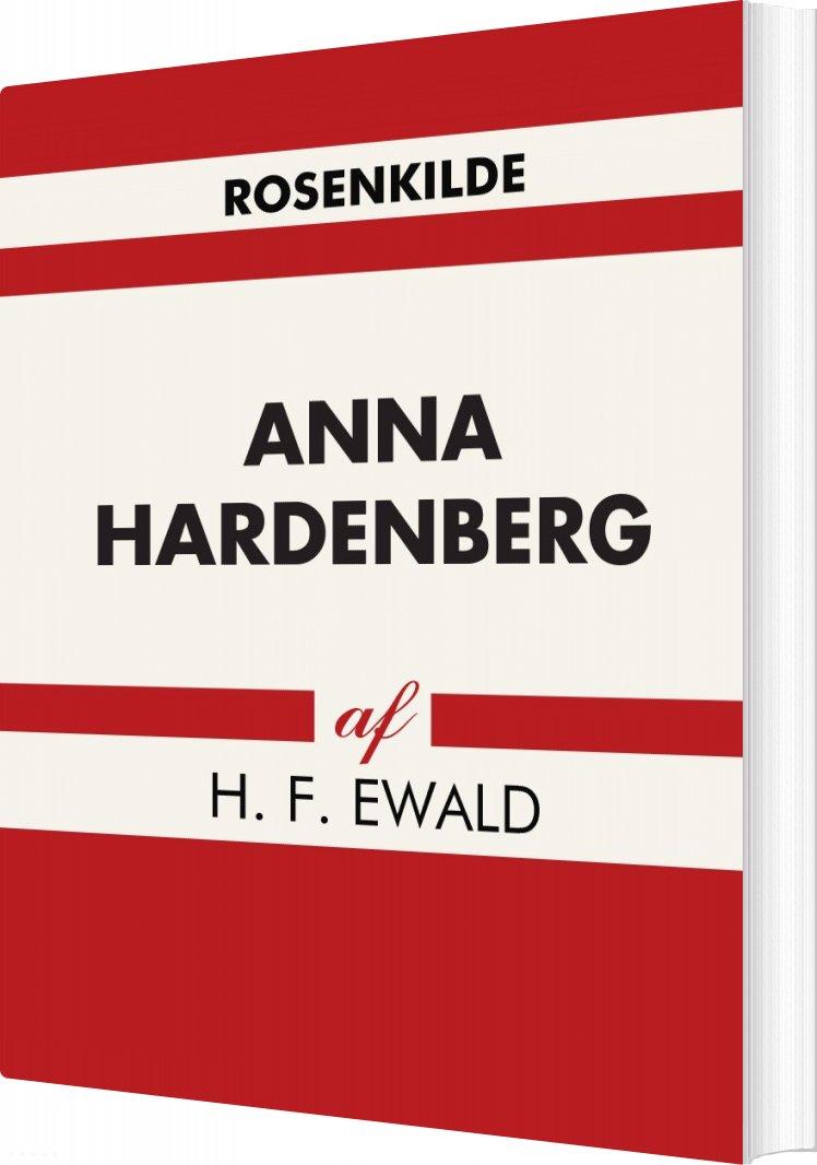 Anna Hardenberg - H. F Ewald - Bog