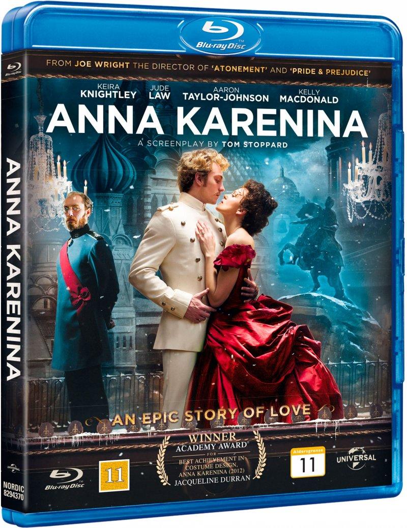 Image of   Anna Karenina - Blu-Ray