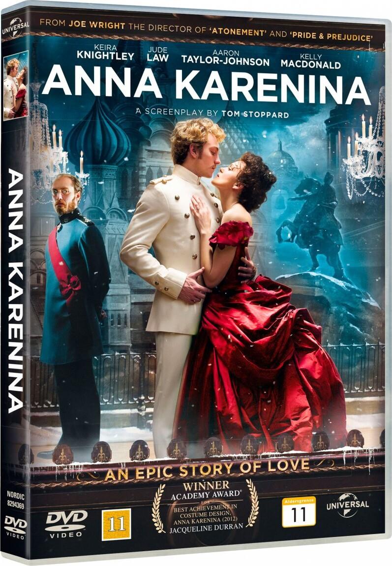 Image of   Anna Karenina - DVD - Film