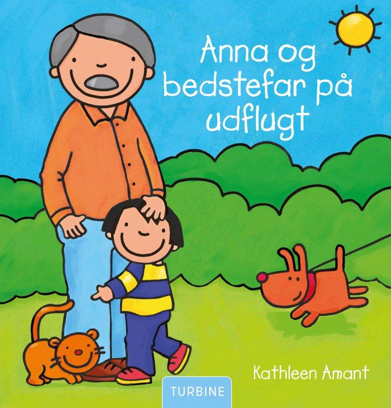 Image of   Anna Og Bedstefar På Udflugt - Kathleen Amant - Bog