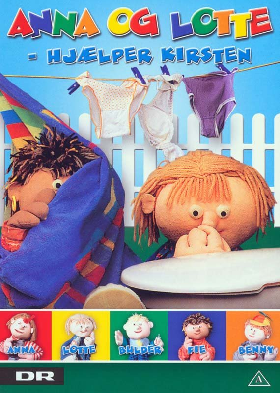 Image of   Anna Og Lotte - Hjælper Kirsten - DVD - Film