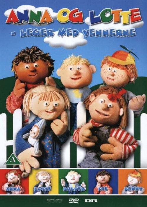 Image of   Anna Og Lotte - Leger Med Vennerne - DVD - Film