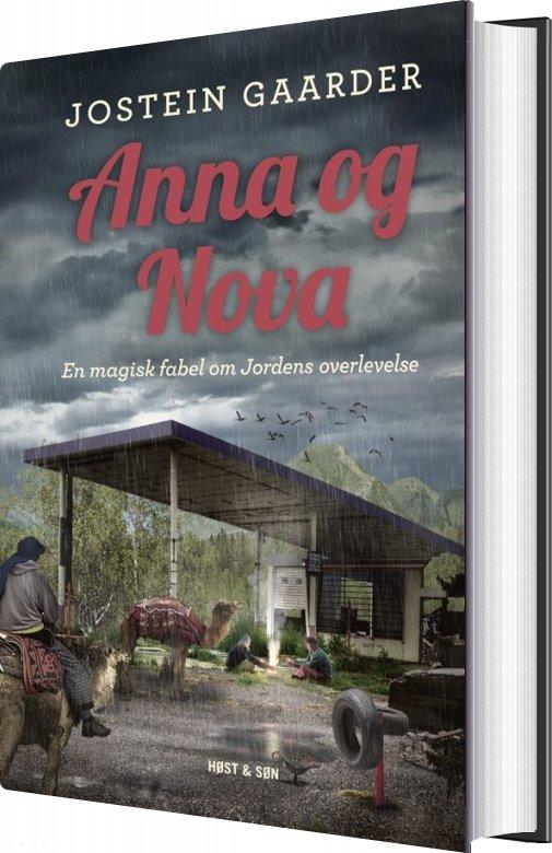 Image of   Anna Og Nova - Jostein Gaarder - Bog