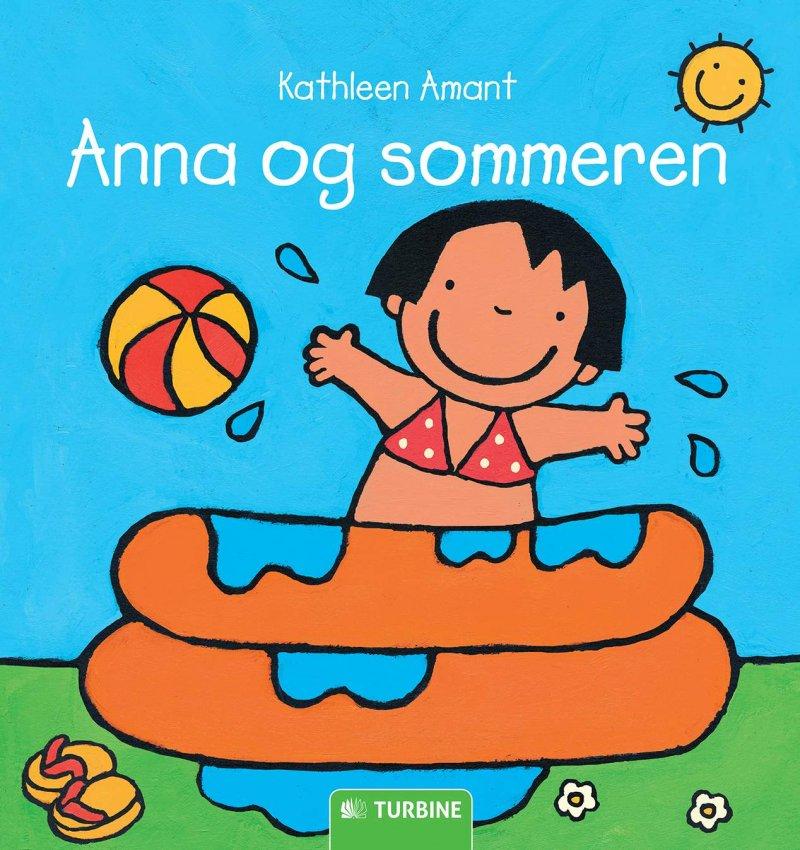 Image of   Anna Og Sommeren - Kathleen Amant - Bog