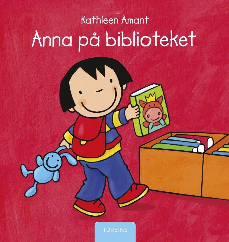 Image of   Anna På Biblioteket - Kathleen Amant - Bog
