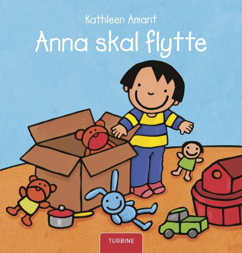 Image of   Anna Skal Flytte - Kathleen Amant - Bog