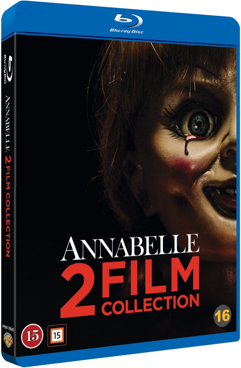 Image of   Annabelle 1 // Annabelle 2 - Skabelsen - Blu-Ray