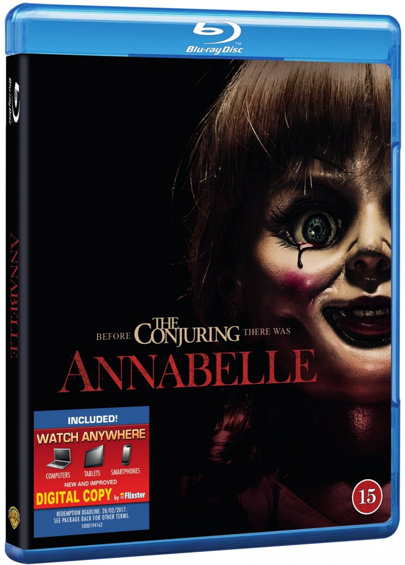 Image of   Annabelle - Blu-Ray