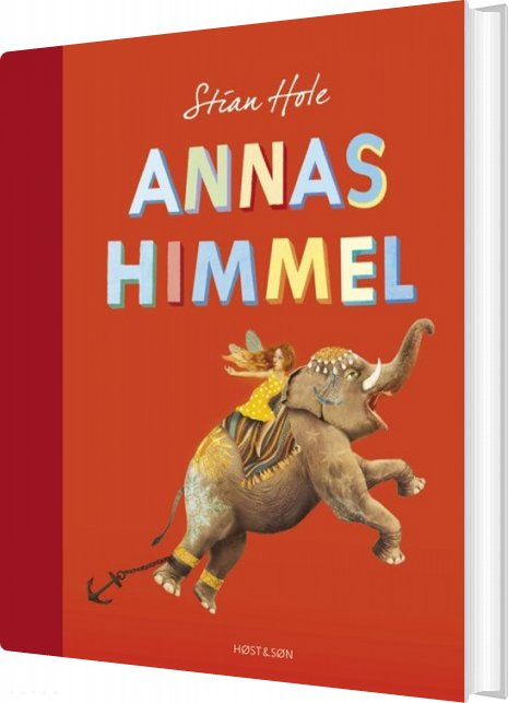 Image of   Annas Himmel - Stian Hole - Bog