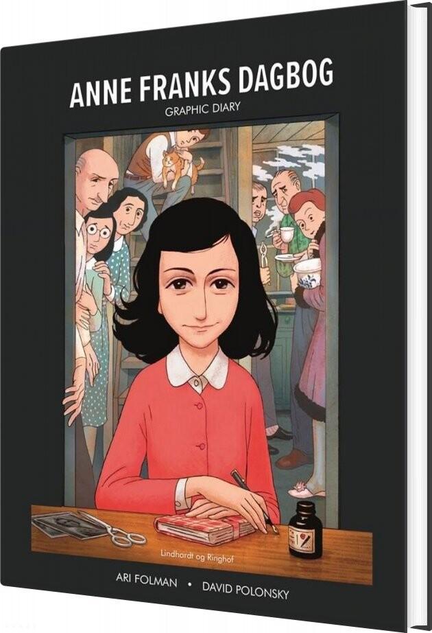 Billede af Anne Franks Dagbog Graphic Novel - Anne Frank - Bog