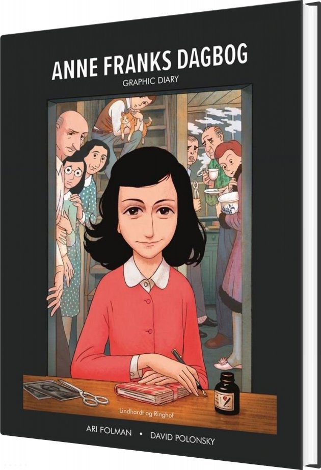 Image of   Anne Franks Dagbog Graphic Novel - Anne Frank - Bog