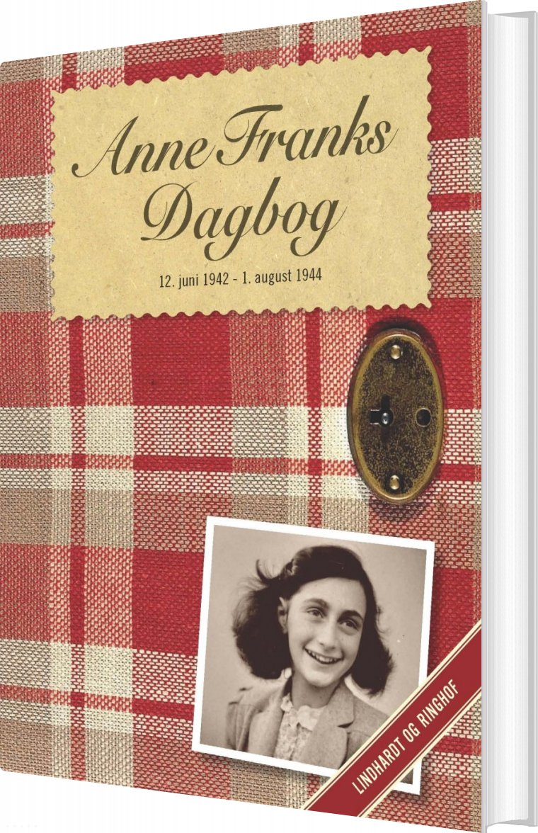 Image of   Anne Franks Dagbog (jubilæumsudgave) - Anne Frank - Bog
