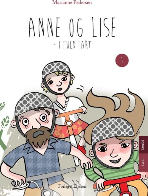 Image of   Anne Og Lise - I Fuld Fart - Marianne Pedersen - Bog