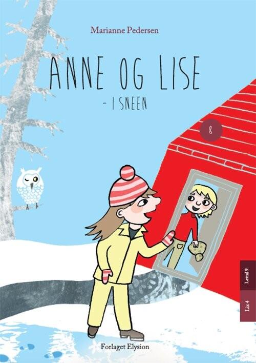 Billede af Anne Og Lise - I Sneen - Marianne Pedersen - Bog