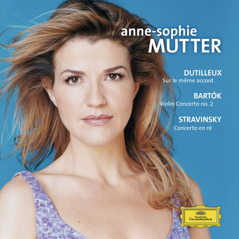 Image of   Anne Sophie Mutter - Violinkonzert 2 / Sur Le Meme Accord / - CD