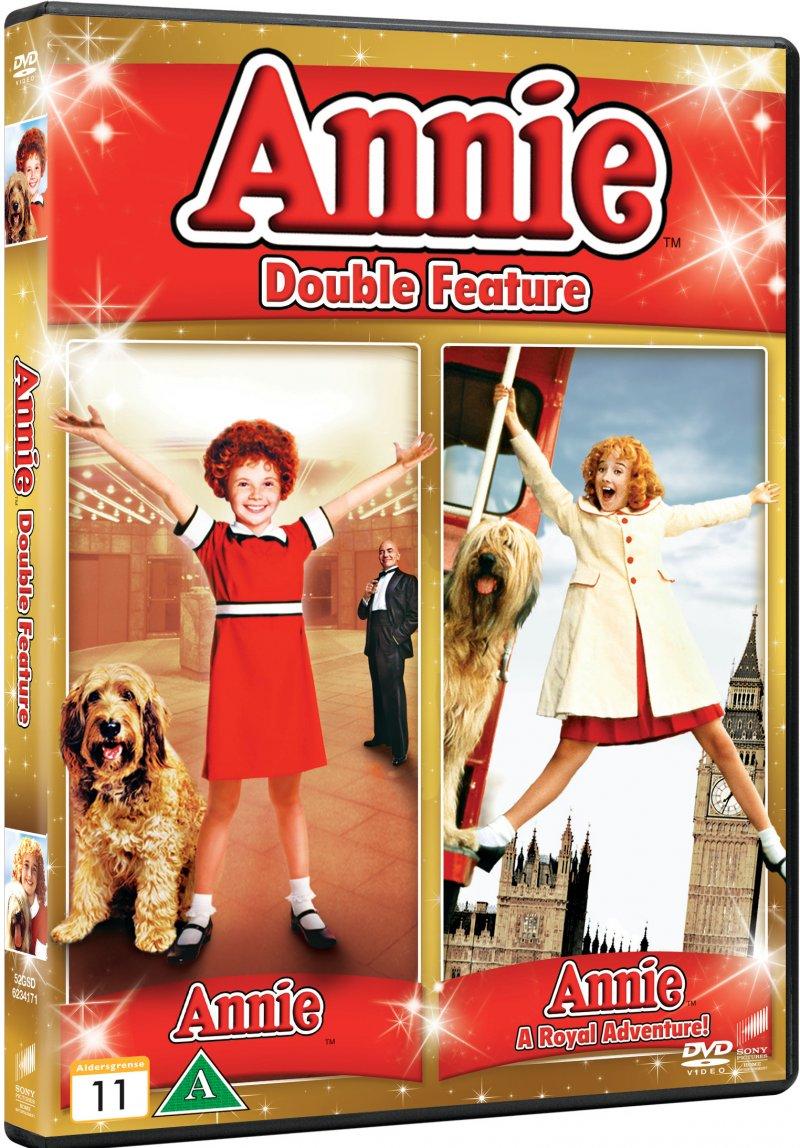 Billede af Annie 1 + 2 - DVD - Film