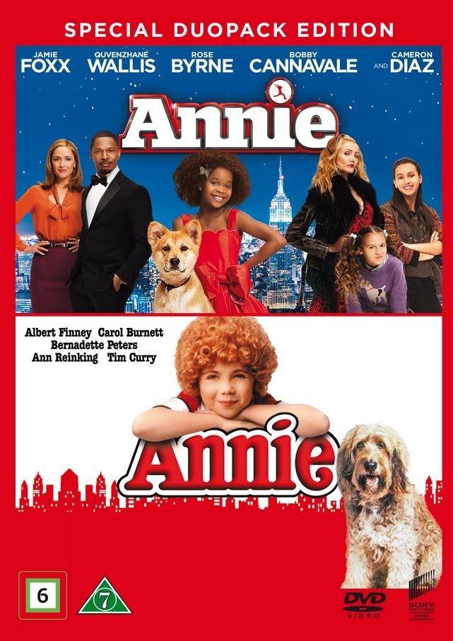 Image of   Annie - 1982 // Annie - 2014 - DVD - Film